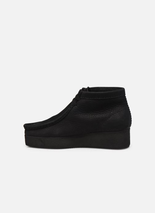 Veterschoenen Clarks Originals Wallabee Wedge Zwart voorkant