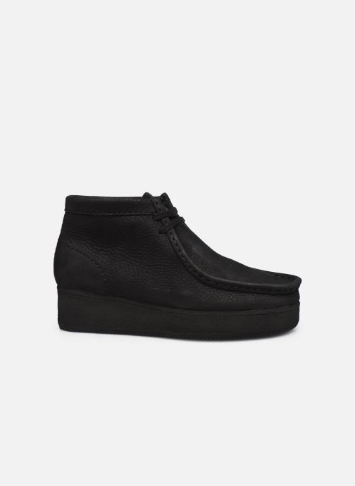 Veterschoenen Clarks Originals Wallabee Wedge Zwart achterkant