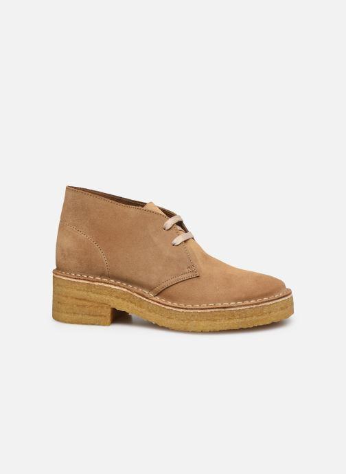 Stiefeletten & Boots Clarks Originals Arisa Desert braun ansicht von hinten