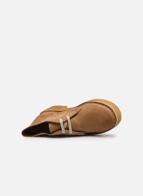 Stiefeletten & Boots Clarks Originals Arisa Desert braun ansicht von links
