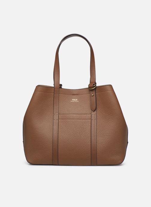 Handtaschen Polo Ralph Lauren Classic Tote-Tote-Medium braun detaillierte ansicht/modell