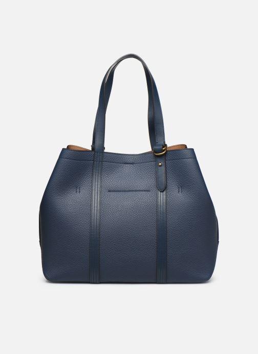 Handtaschen Polo Ralph Lauren CLASSIC TOTE MEDIUM blau ansicht von vorne