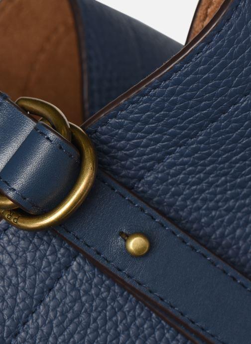 Handtaschen Polo Ralph Lauren CLASSIC TOTE MEDIUM blau ansicht von hinten