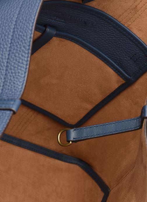 Handtaschen Polo Ralph Lauren CLASSIC TOTE MEDIUM blau ansicht von links