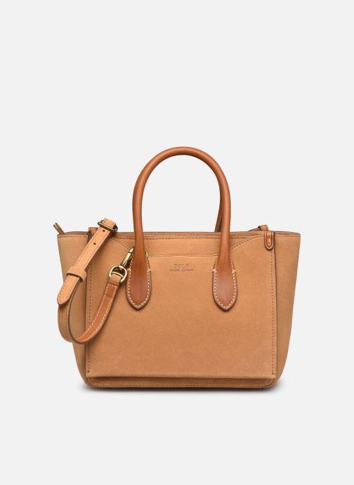 Handtaschen Polo Ralph Lauren MINI SLOANE SATCHEL SMALL braun detaillierte ansicht/modell