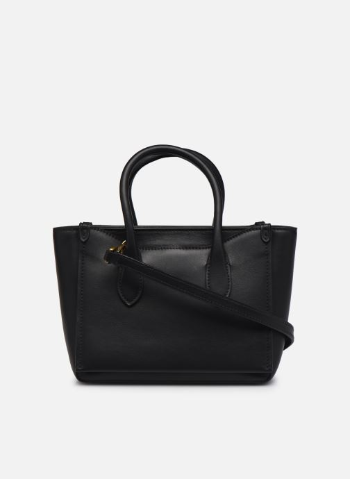 Handtaschen Polo Ralph Lauren MINI SLOANE SATCHEL SMALL schwarz ansicht von vorne