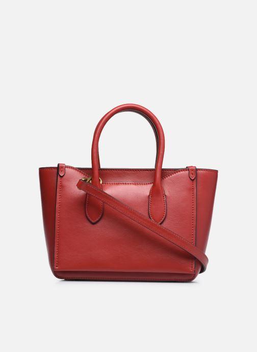 Bolsos de mano Polo Ralph Lauren MINI SLOANE SATCHEL SMALL Rojo vista de frente