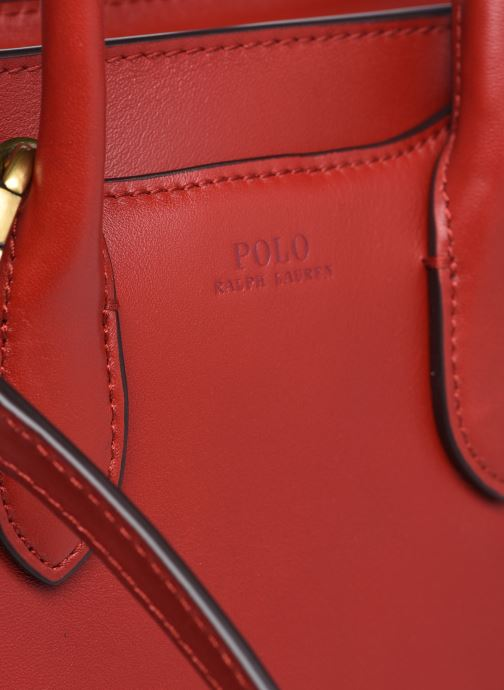 Bolsos de mano Polo Ralph Lauren MINI SLOANE SATCHEL SMALL Rojo vista lateral izquierda