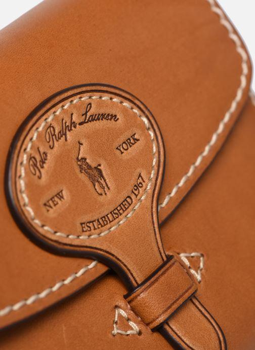 Petite Maroquinerie Polo Ralph Lauren COMPACT WALLET Marron vue gauche