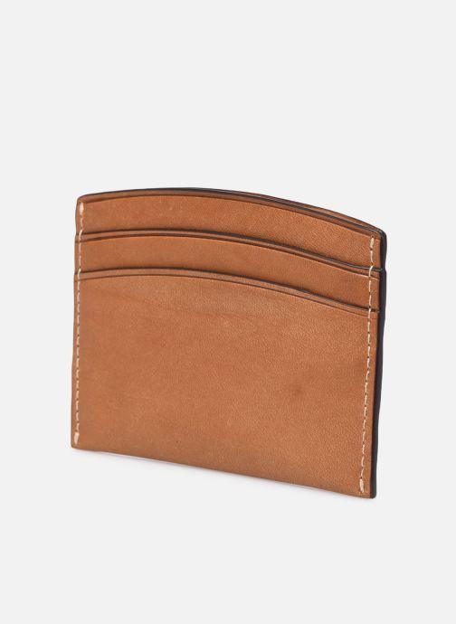 Petite Maroquinerie Polo Ralph Lauren CARD CASE Marron vue droite
