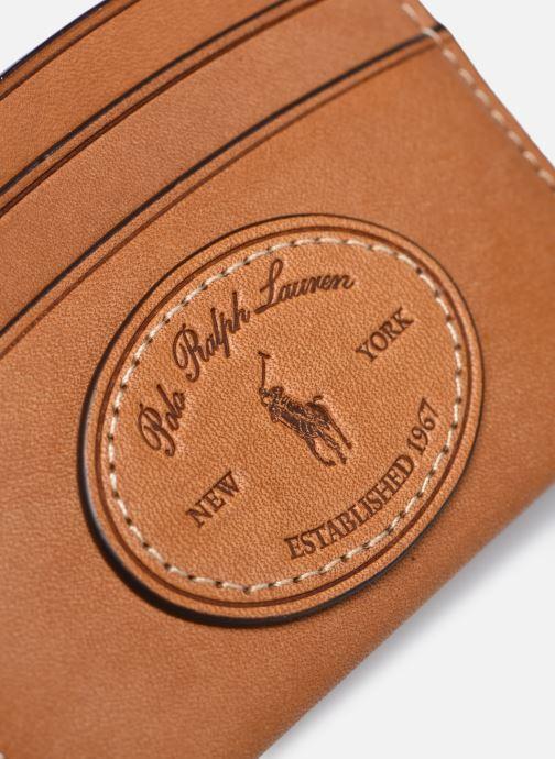 Petite Maroquinerie Polo Ralph Lauren CARD CASE Marron vue gauche