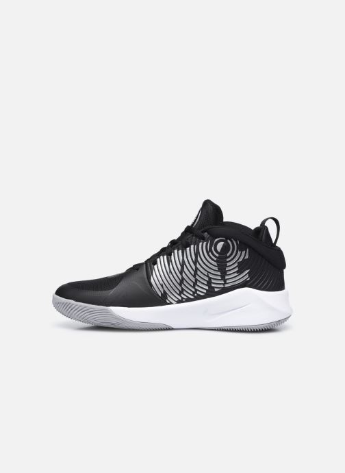 Chaussures de sport Nike Team Hustle D 9 (Gs) Noir vue face