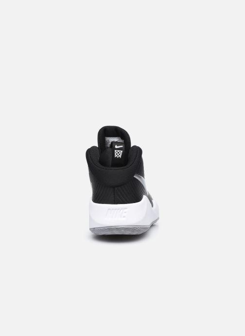 Chaussures de sport Nike Team Hustle D 9 (Gs) Noir vue droite