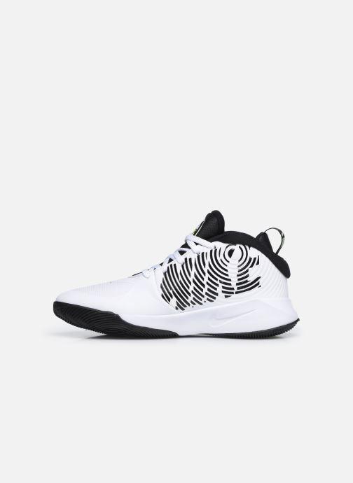 Sportschuhe Nike Team Hustle D 9 (Gs) weiß ansicht von vorne