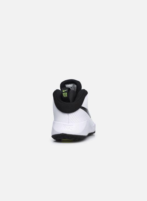 Sportschuhe Nike Team Hustle D 9 (Gs) weiß ansicht von rechts