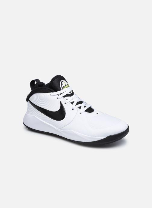 Chaussures de sport Nike Team Hustle D 9 (Gs) Blanc vue détail/paire