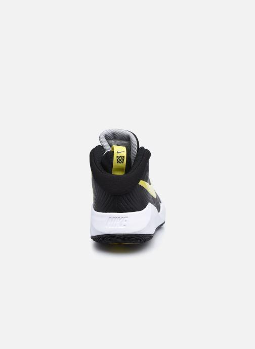 Scarpe sportive Nike Team Hustle D 9 (Gs) Nero immagine destra