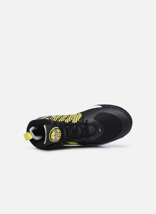 Scarpe sportive Nike Team Hustle D 9 (Gs) Nero immagine sinistra