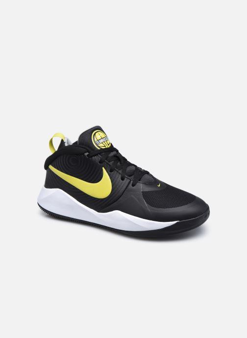 Chaussures de sport Nike Team Hustle D 9 (Gs) Noir vue détail/paire