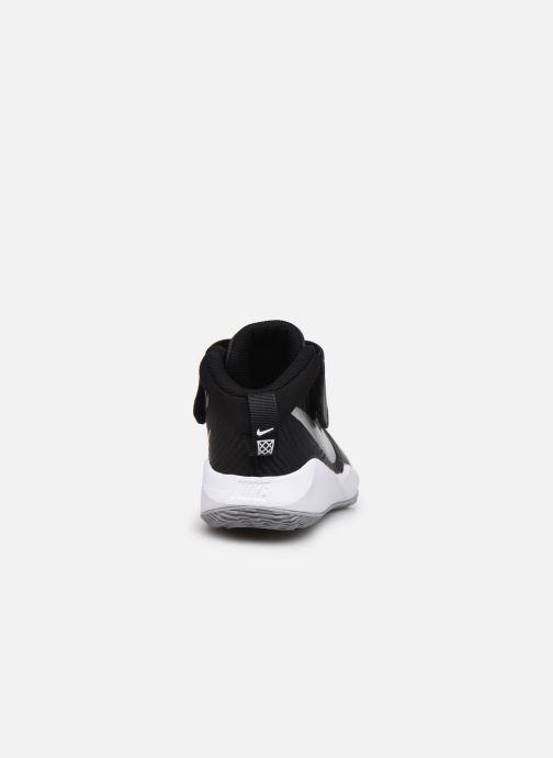 Sportschuhe Nike Team Hustle D 9 (Ps) schwarz ansicht von rechts