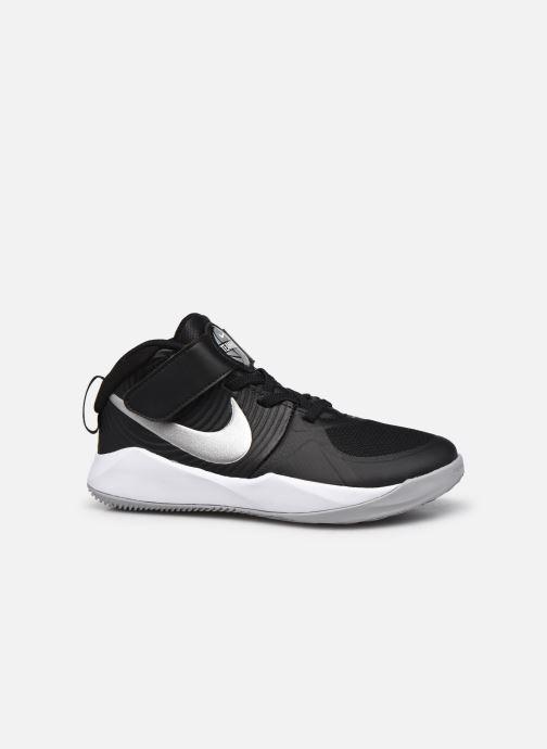 Sportschuhe Nike Team Hustle D 9 (Ps) schwarz ansicht von hinten