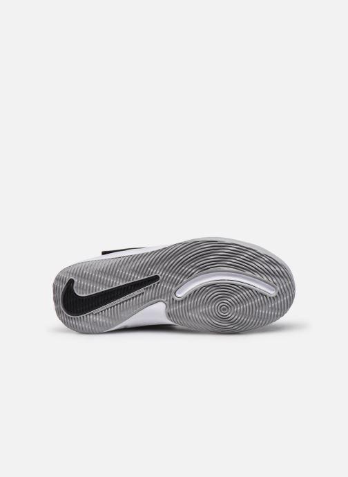 Sportschuhe Nike Team Hustle D 9 (Ps) schwarz ansicht von oben
