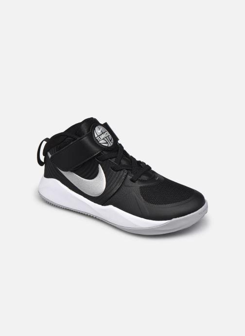 Sportschuhe Nike Team Hustle D 9 (Ps) schwarz detaillierte ansicht/modell