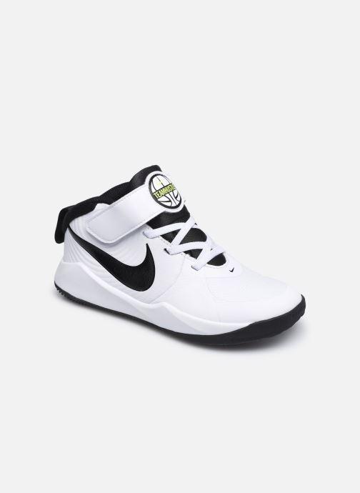 Sportschuhe Nike Team Hustle D 9 (Ps) weiß detaillierte ansicht/modell