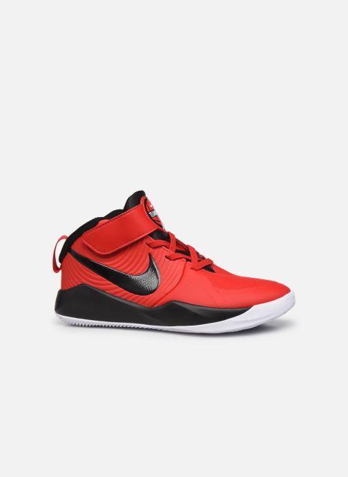 Sportschuhe Nike Team Hustle D 9 (Ps) rot ansicht von hinten