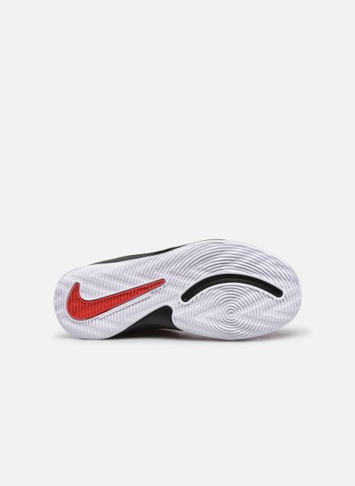 Sportschuhe Nike Team Hustle D 9 (Ps) rot ansicht von oben