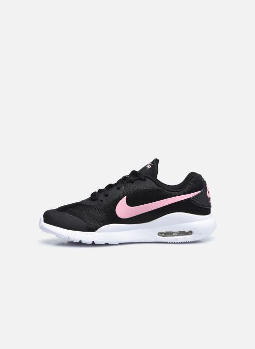 Sneakers Nike Nike Air Max Oketo (Gs) Nero immagine frontale