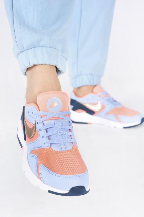 Sportschuhe Nike Nike Ld Victory (Gs) blau ansicht von unten / tasche getragen