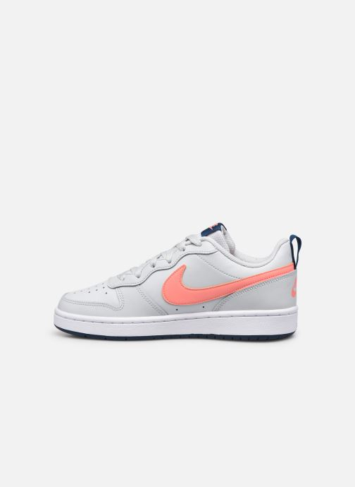 Baskets Nike Nike Court Borough Low 2 (Gs) Gris vue face