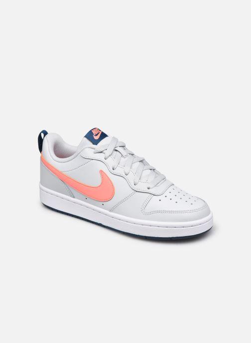 Deportivas Nike Nike Court Borough Low 2 (Gs) Gris vista de detalle / par