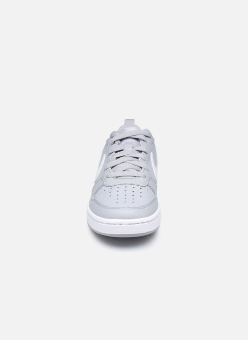 Sneaker Nike Nike Court Borough Low 2 (Gs) grau schuhe getragen