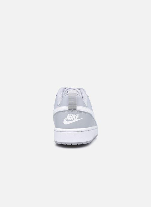 Sneaker Nike Nike Court Borough Low 2 (Gs) grau ansicht von rechts