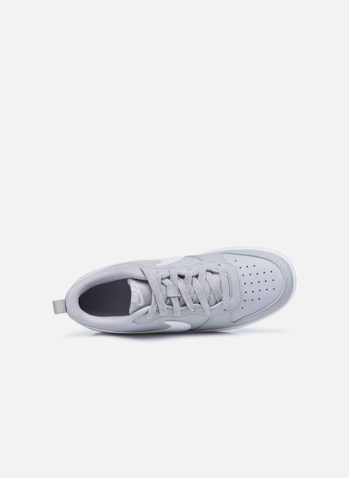 Sneaker Nike Nike Court Borough Low 2 (Gs) grau ansicht von links