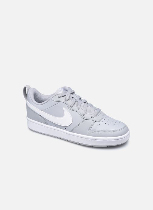 Baskets Nike Nike Court Borough Low 2 (Gs) Gris vue détail/paire