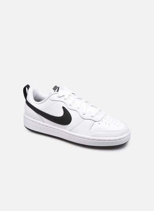 Baskets Nike Nike Court Borough Low 2 (Gs) Blanc vue détail/paire