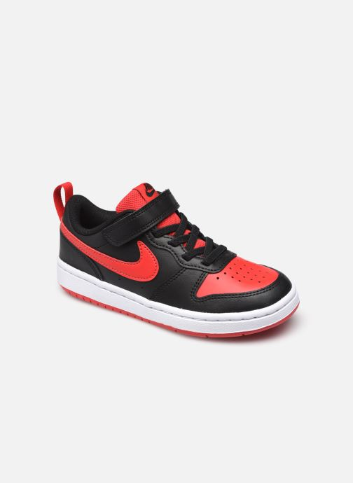 Baskets Nike Nike Court Borough Low 2 (Psv) Noir vue détail/paire