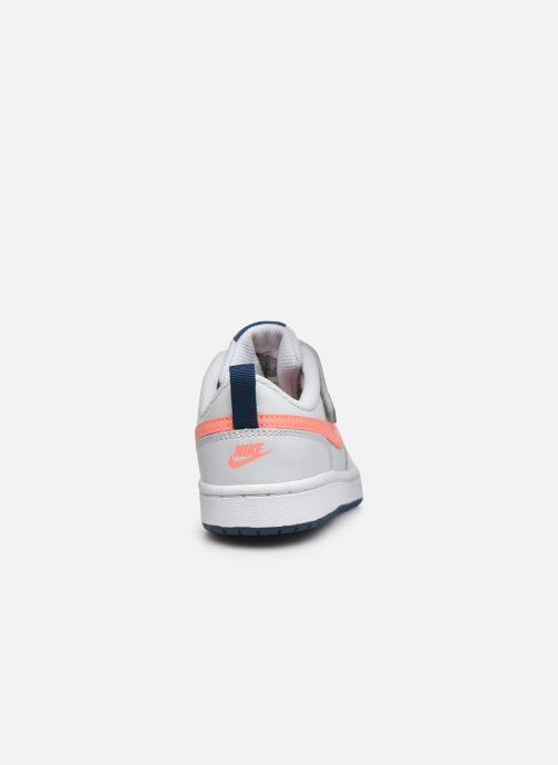 Deportivas Nike Nike Court Borough Low 2 (Psv) Gris vista lateral derecha
