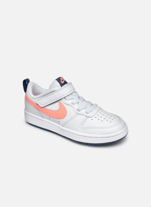 Deportivas Nike Nike Court Borough Low 2 (Psv) Gris vista de detalle / par