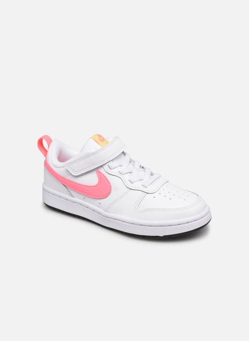 Baskets Nike Nike Court Borough Low 2 (Psv) Blanc vue détail/paire