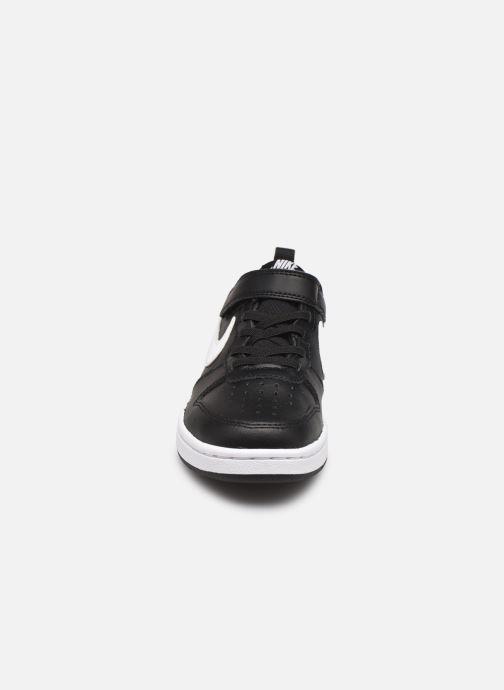 Baskets Nike Nike Court Borough Low 2 (Psv) Noir vue portées chaussures