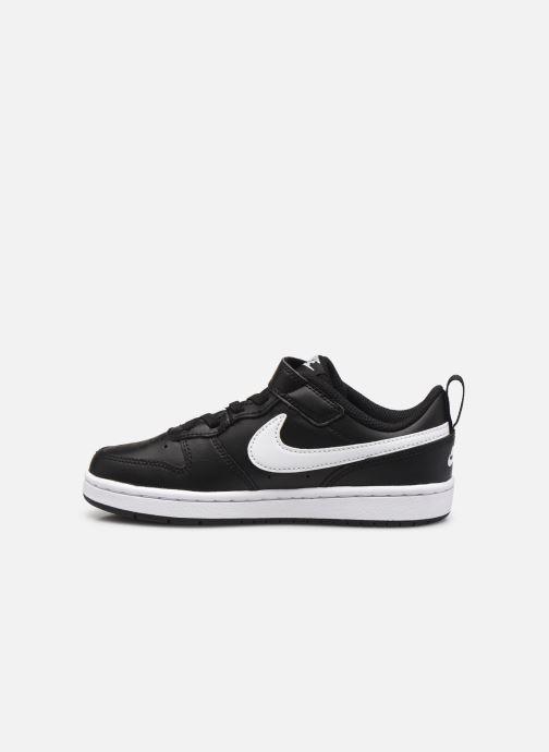 Baskets Nike Nike Court Borough Low 2 (Psv) Noir vue face