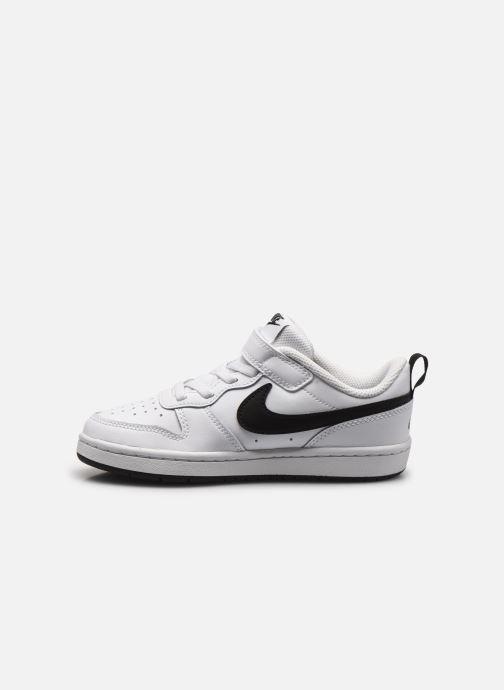 Baskets Nike Nike Court Borough Low 2 (Psv) Blanc vue face