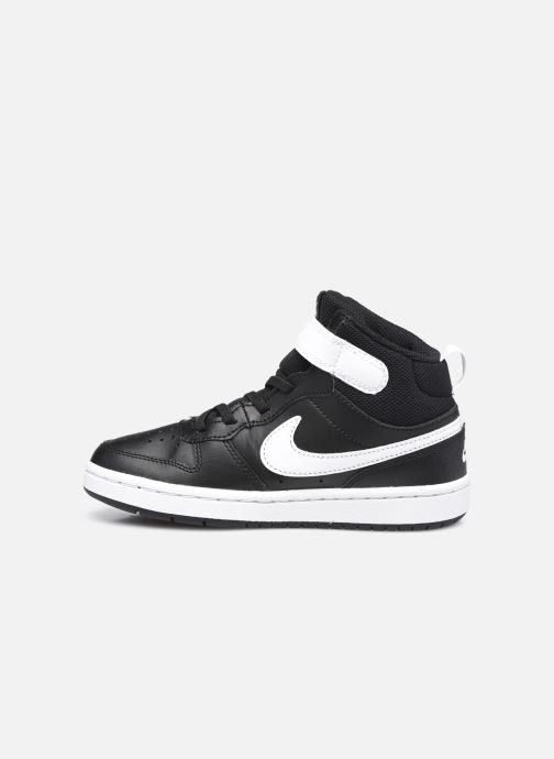 Baskets Nike Court Borough Mid 2 (Psv) Noir vue face