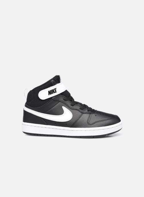 Baskets Nike Court Borough Mid 2 (Psv) Noir vue derrière