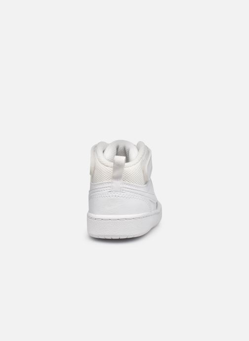 Sneaker Nike Court Borough Mid 2 (Tdv) weiß ansicht von rechts