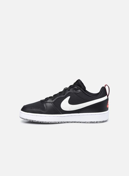 Baskets Nike Court Borough Low 2 Se (Gs) Noir vue face